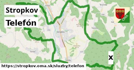 ilustračný obrázok k Telefón, Stropkov