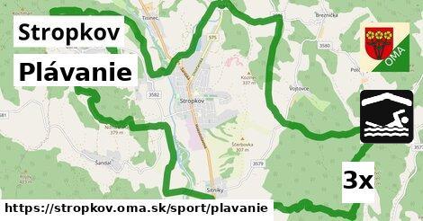 Plávanie, Stropkov