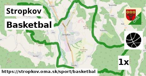 ilustračný obrázok k Basketbal, Stropkov