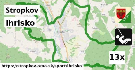 ilustračný obrázok k Ihrisko, Stropkov