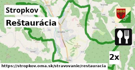 ilustračný obrázok k Reštaurácia, Stropkov