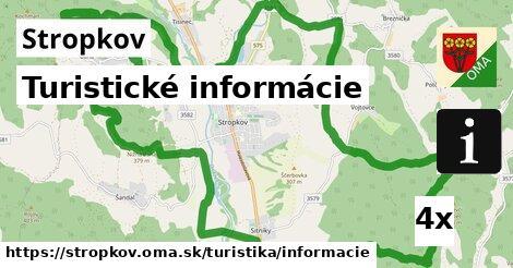 ilustračný obrázok k Turistické informácie, Stropkov