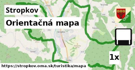 ilustračný obrázok k Orientačná mapa, Stropkov