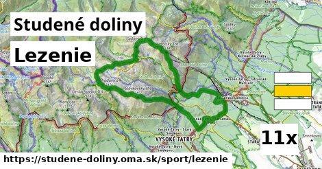 lezenie v Studené doliny