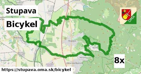 bicykel v Stupava