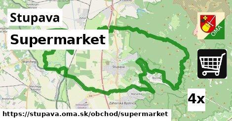 ilustračný obrázok k Supermarket, Stupava