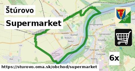 supermarket v Štúrovo