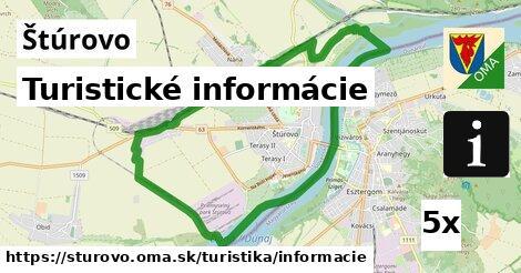 turistické informácie v Štúrovo