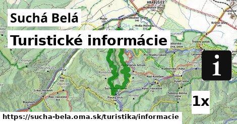 turistické informácie v Suchá Belá