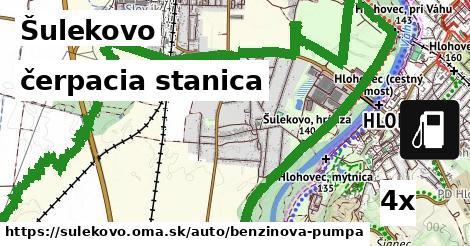 čerpacia stanica v Šulekovo
