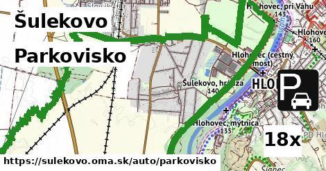 parkovisko v Šulekovo