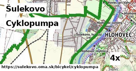 cyklopumpa v Šulekovo