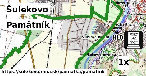 pamätník v Šulekovo