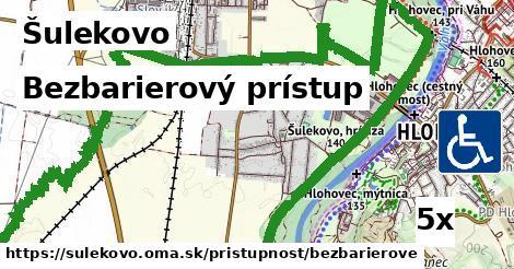 bezbarierový prístup v Šulekovo
