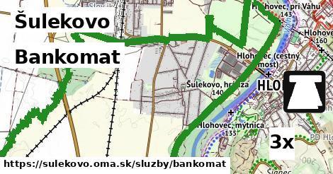 bankomat v Šulekovo