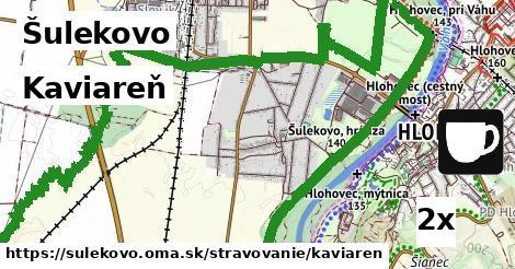 kaviareň v Šulekovo