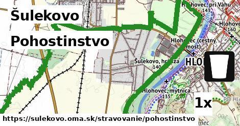 pohostinstvo v Šulekovo
