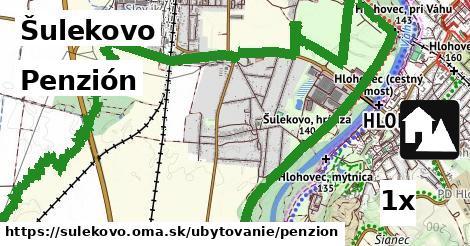 penzión v Šulekovo