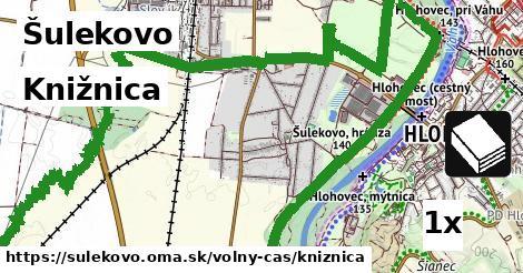 knižnica v Šulekovo