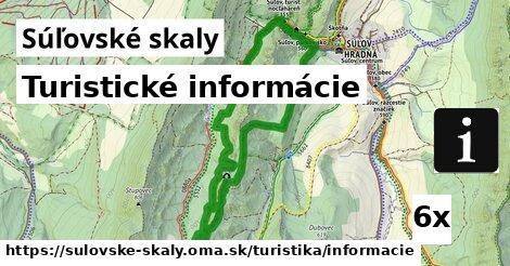 turistické informácie v Súľovské skaly