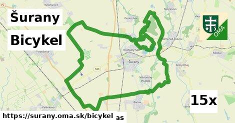 bicykel v Šurany