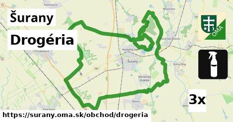 Drogéria, Šurany
