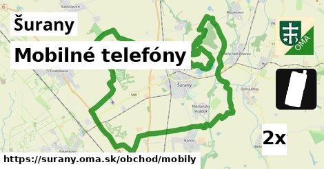 mobilné telefóny v Šurany
