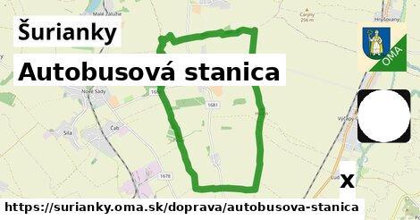 ilustračný obrázok k Autobusová stanica, Šurianky