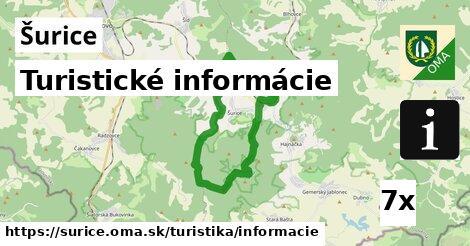 turistické informácie v Šurice
