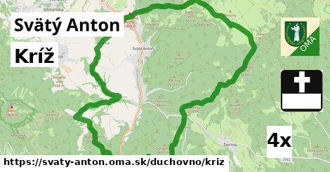 kríž v Svätý Anton