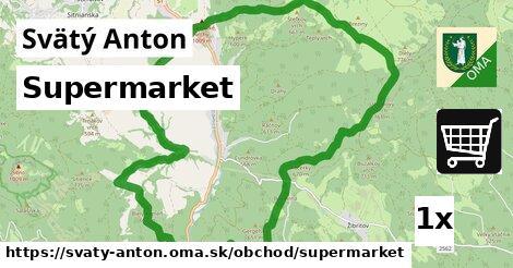 supermarket v Svätý Anton
