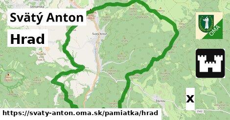 hrad v Svätý Anton
