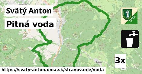 ilustračný obrázok k Pitná voda, Svätý Anton