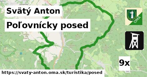 poľovnícky posed v Svätý Anton
