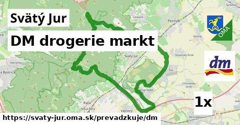 DM drogerie markt v Svätý Jur