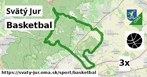 basketbal v Svätý Jur
