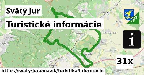 turistické informácie v Svätý Jur