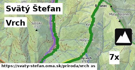vrch v Svätý Štefan