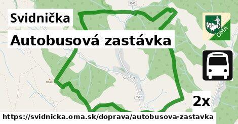 ilustračný obrázok k Autobusová zastávka, Svidnička