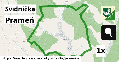 ilustračný obrázok k Prameň, Svidnička