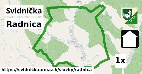ilustračný obrázok k Radnica, Svidnička