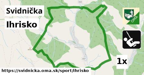 ilustračný obrázok k Ihrisko, Svidnička