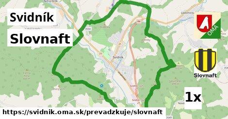 ilustračný obrázok k Slovnaft, Svidník