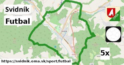 ilustračný obrázok k Futbal, Svidník