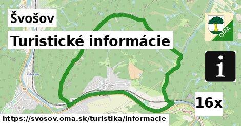 Turistické informácie, Švošov