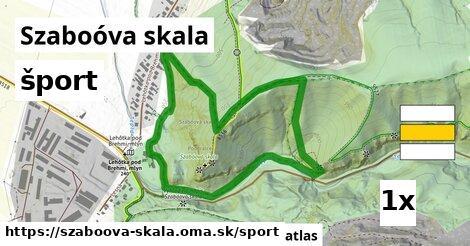 šport v Szaboóva skala