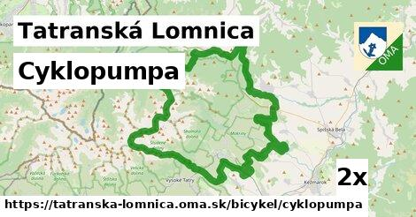 cyklopumpa v Tatranská Lomnica