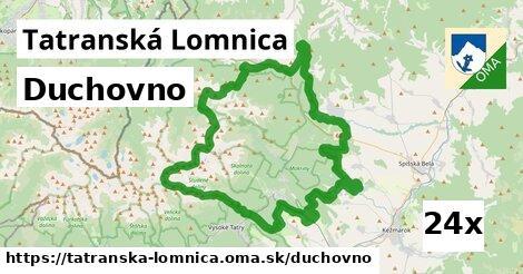 duchovno v Tatranská Lomnica