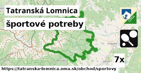 športové potreby v Tatranská Lomnica