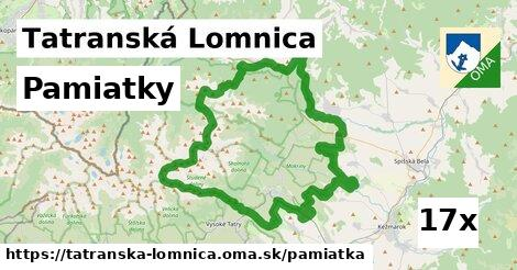pamiatky v Tatranská Lomnica